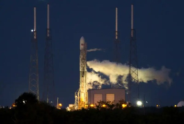Clouds Rain Delay SpaceX Falcon Rocket Launch Business