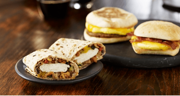 starbucks breakfast sandwiches