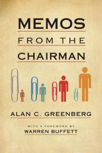 'Memos from the Chairman' by Alan Greenberg