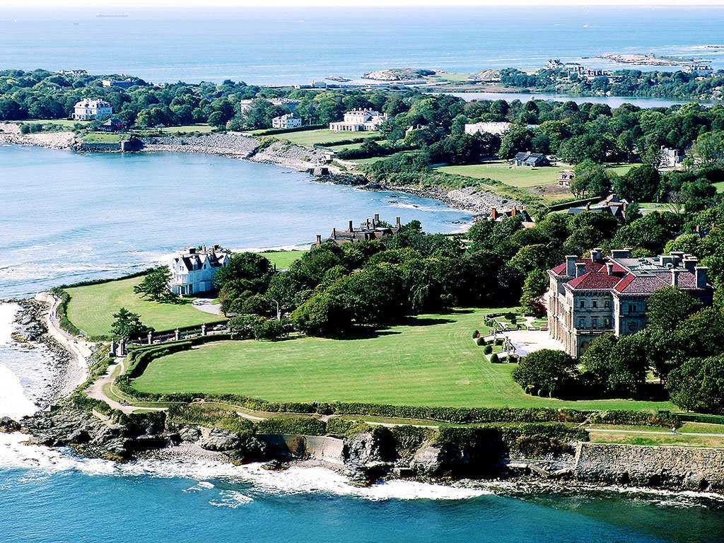 30. Aquidneck Island (Newport), Rhode Island