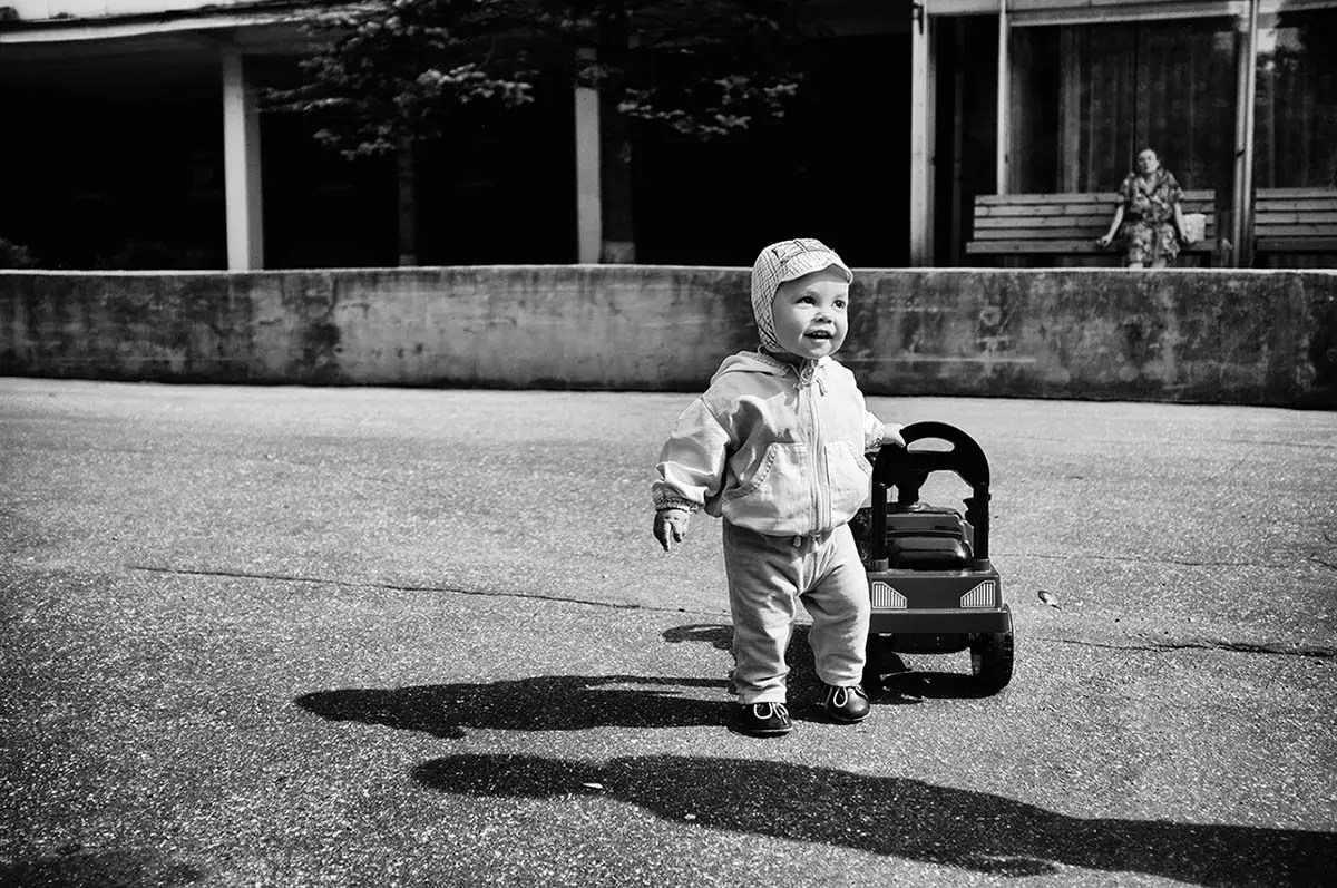 Alexander, age 1. Passion or Dream: Cars are our passion (mother's words).