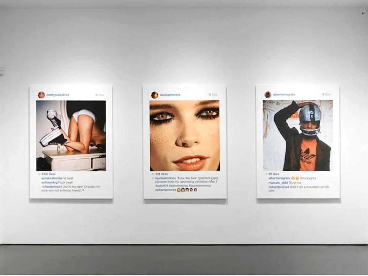 richard prince gagosian gallery new portraits instagram copyright