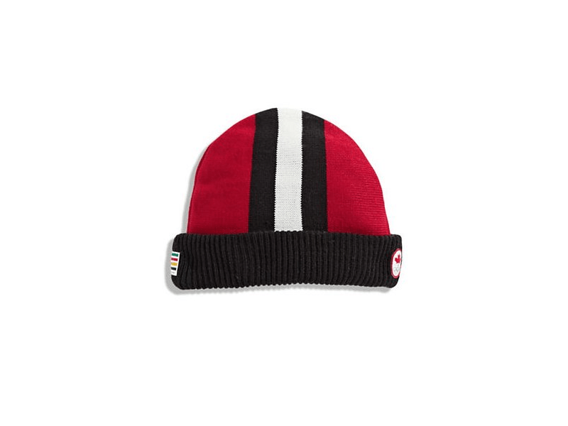 """Toque: Pronounced """"toohk,"""" a toque is a winter hat or knit cap. Like a beanie. It often refers to the type of beanie that rolls up at the bottom."""