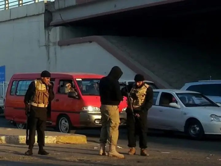 mosul checkpoint
