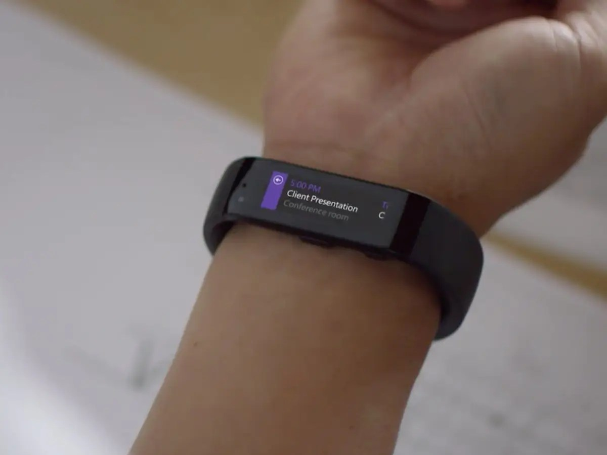 An updated Microsoft Band.