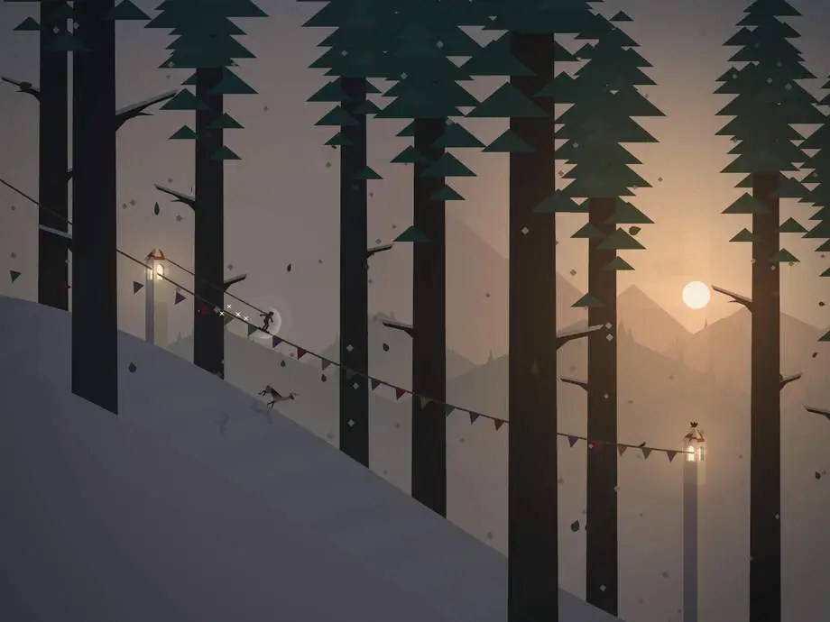 Alto's Adventure is a causal endless runner with character.