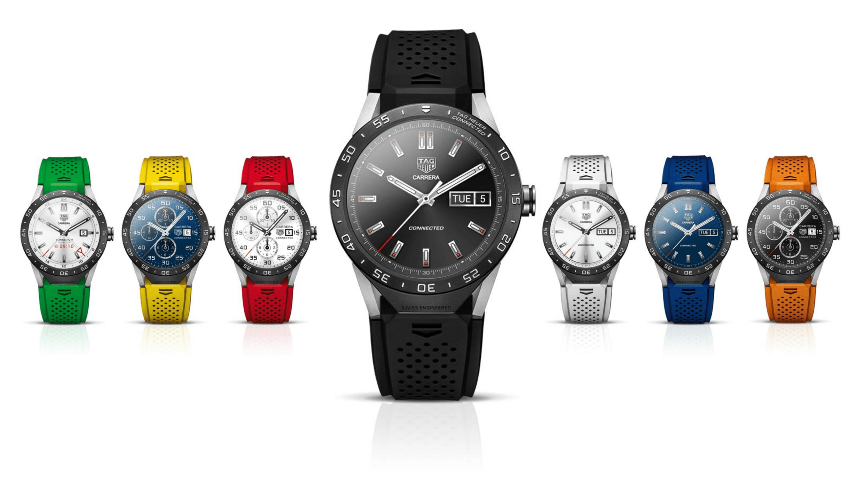 Tag Heuer sells this watch in seven distinct colors.