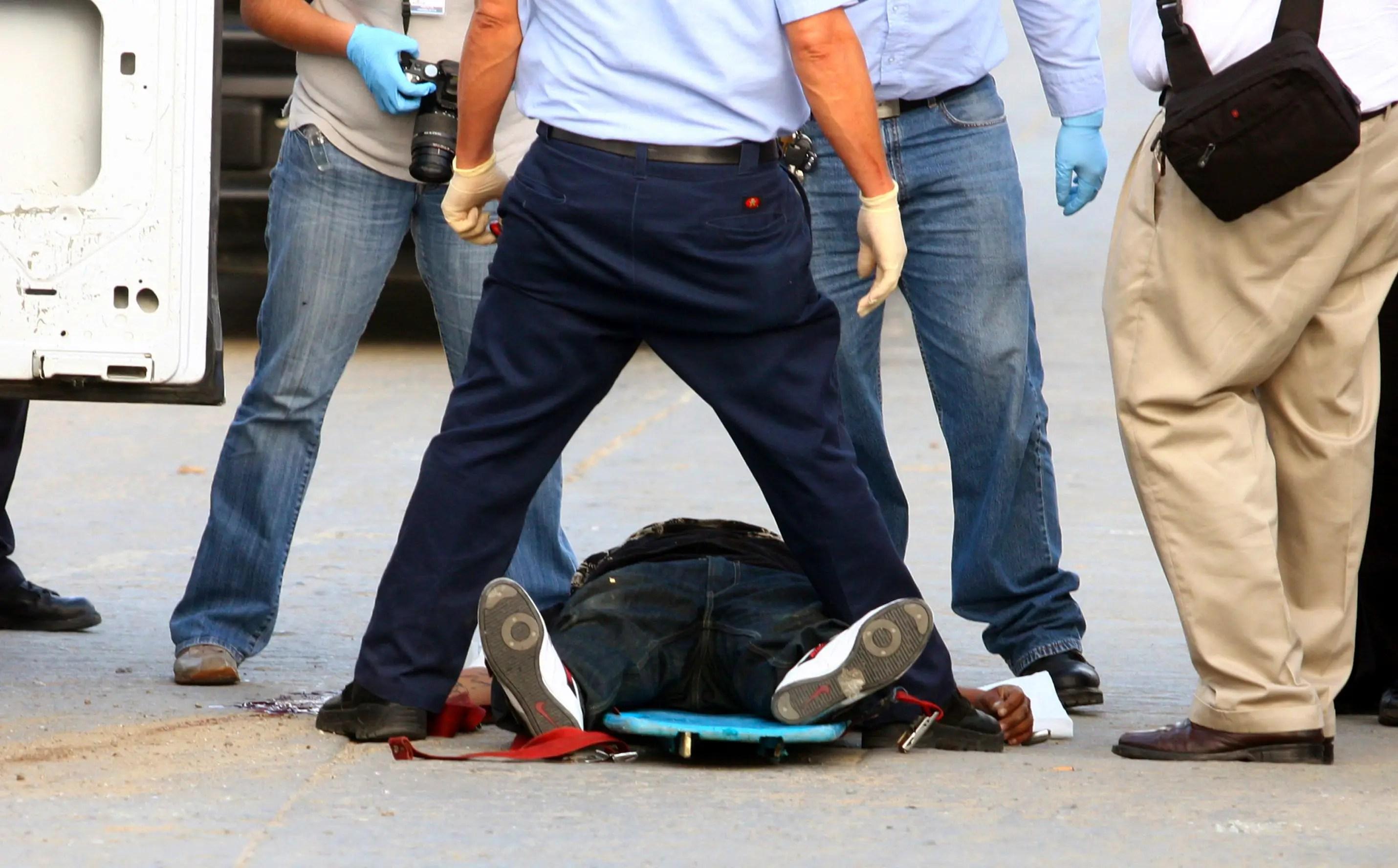 Tijuana crime scene Mexico