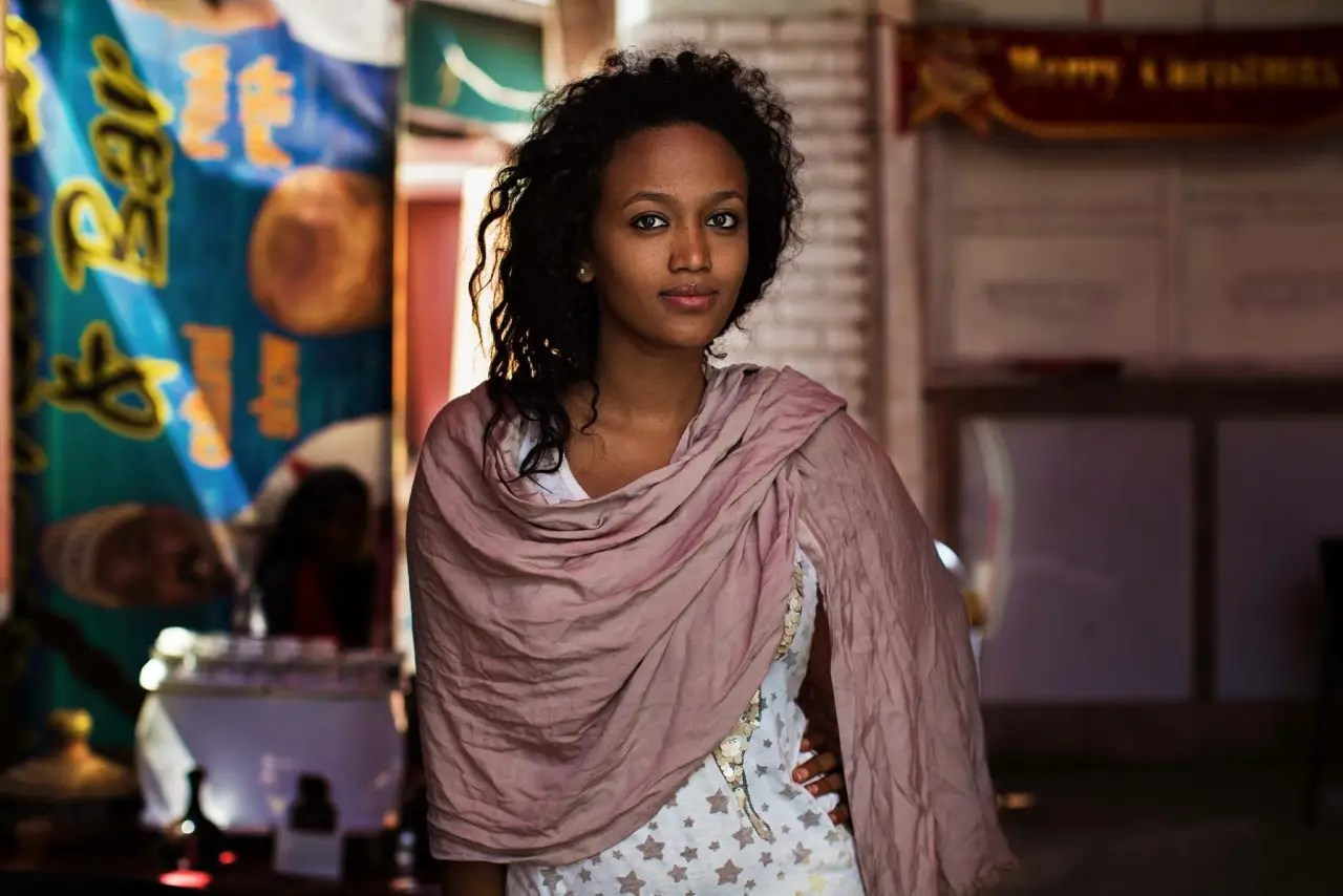 """Noroc says this Ethiopian woman is a Muslim, but her best friend is Christian. """"While traveling in Ethiopia in February, I admired the way Christians and Muslims got along,"""" she says. """"But in the same country, there are dozens of terrible ethnic conflicts."""""""