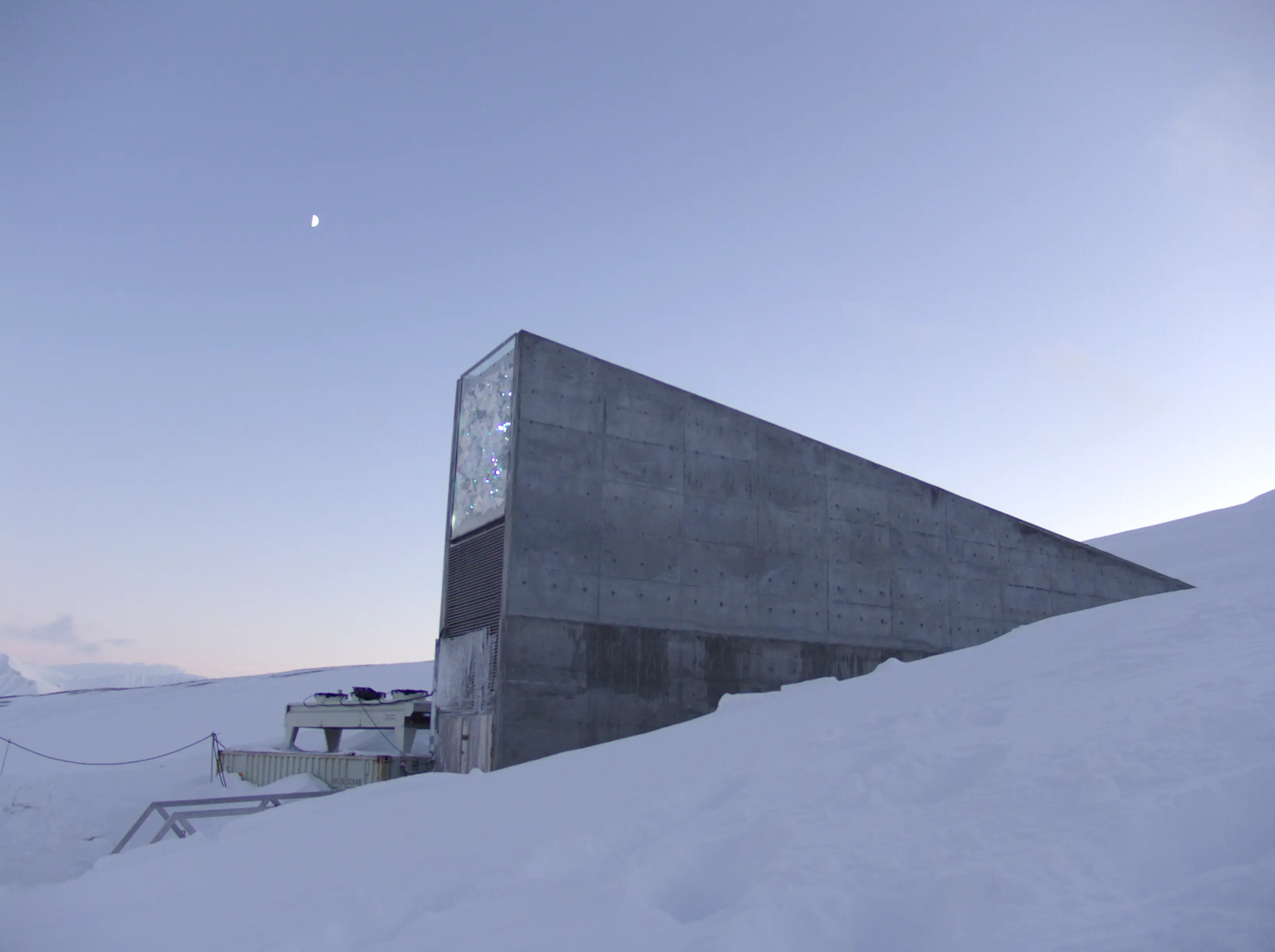 82. The beautifully designed Svalbard Global Seed Vault stores hundreds of thousands of seeds, with the aim of protecting them in the event of a global apocalypse.