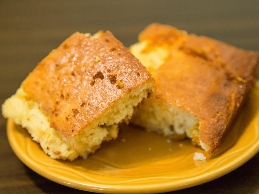ARIZONA: Corn bread cake