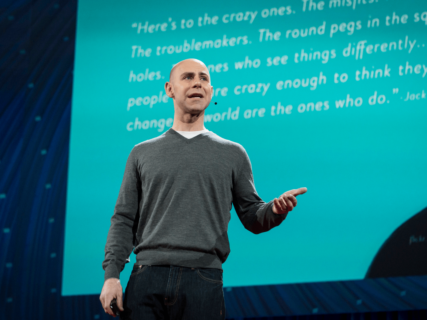 """The surprising habits of original thinkers"" by Adam Grant"