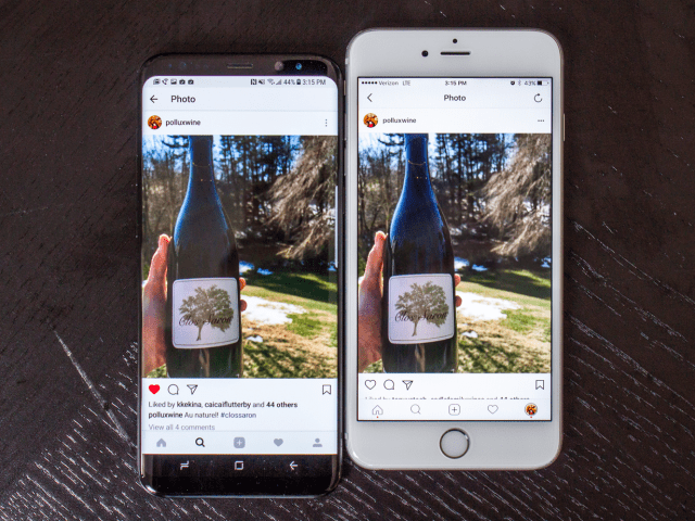 2. It can also show you more of your apps, like Instagram, which lets you get a few extra details without scrolling.