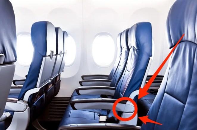 Image result for armrest of a plane
