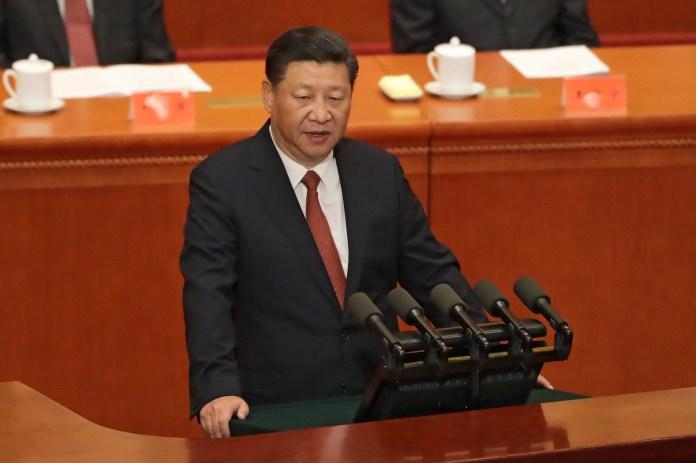 Xi jinping China's Xi swears to 'defeat separatist attempts' from Taiwan China's Xi swears to 'defeat separatist attempts' from Taiwan ap17213205157228