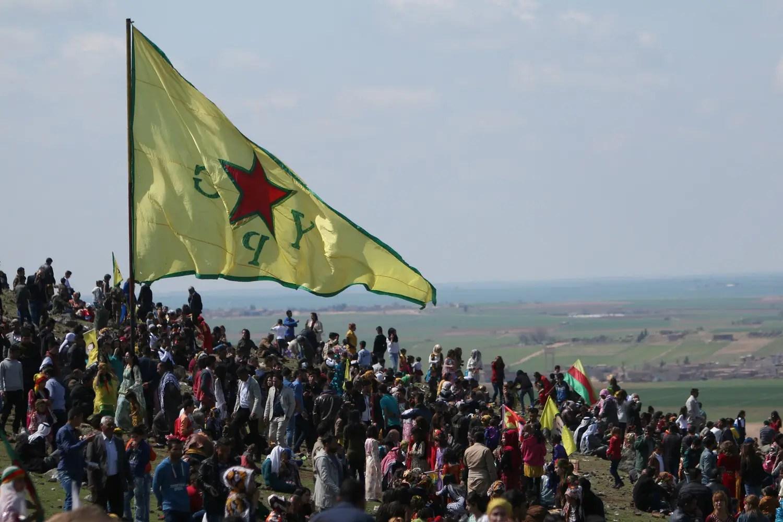 kurdish ypg flag