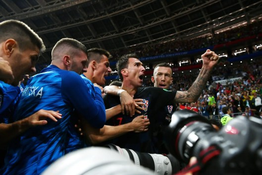 Image result for AFP photographer turns into a part of Croatia world Cup aim birthday party