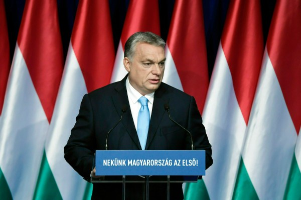 EU center-right group faces decision on Orban's party ...