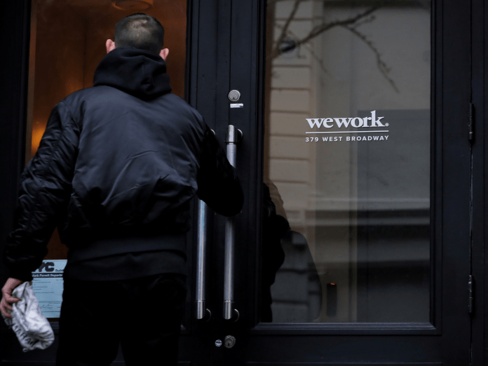 WeWork says 1000's of its telephone cubicles may have harmful ranges of formaldehyde after individuals complained about odor and eye irritation