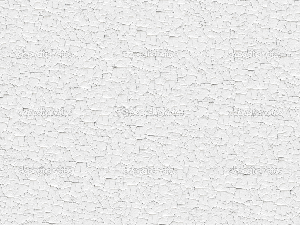 Seamless White Painted Cracked Texture