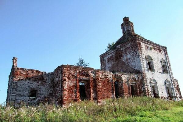 Руины Бернардинского монастыря в Брестской крепости ...