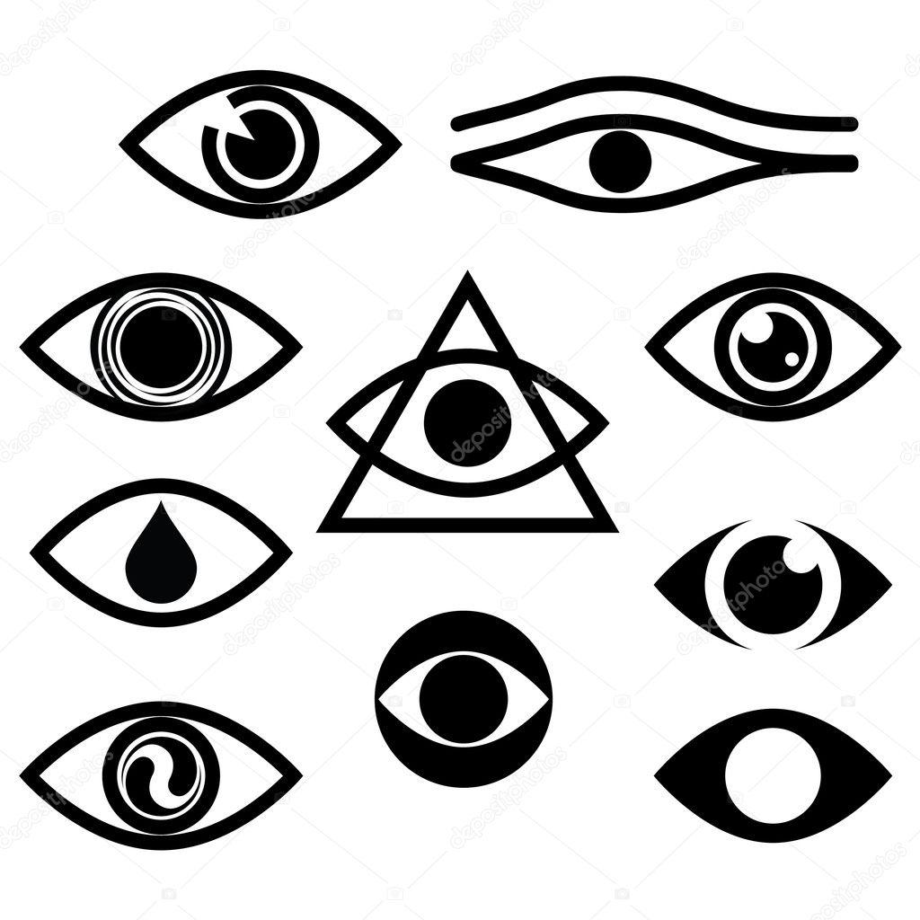 Eye Character Set