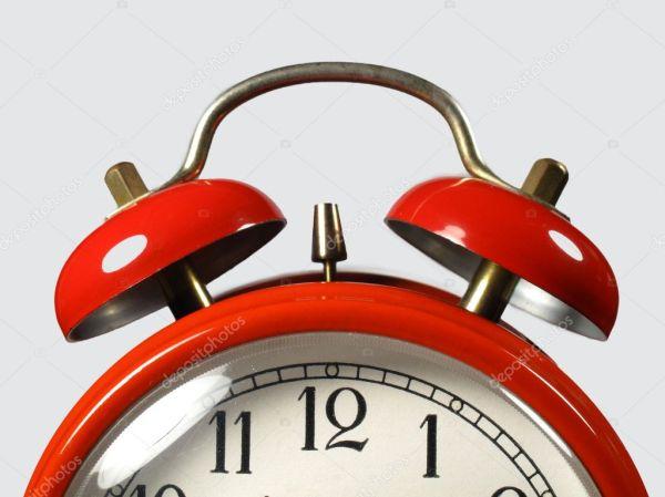 Часы красный канат — Стоковое фото © James633 #5415142
