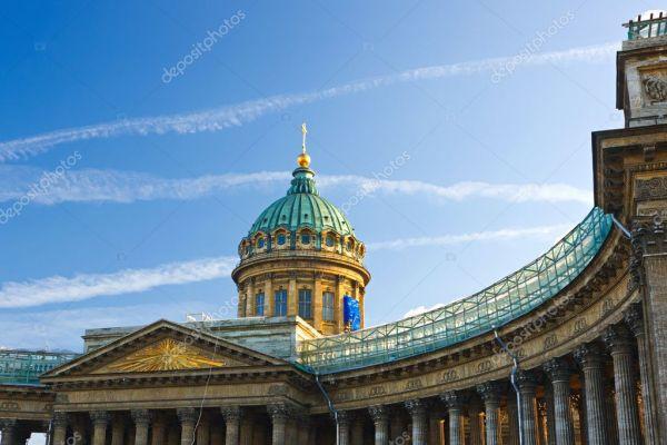 Казанский собор, Санкт-Петербург, Россия — Стоковое фото ...
