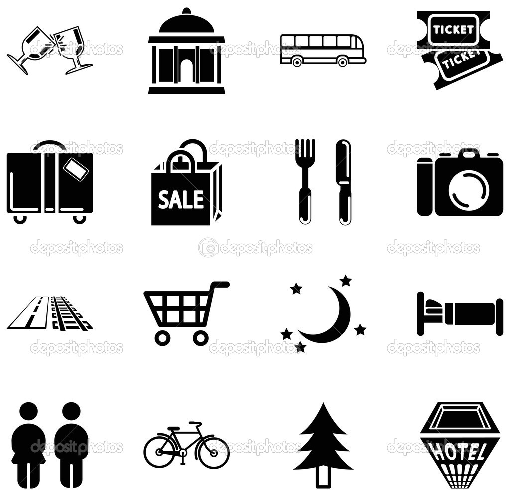 Local Information Icons Gallery