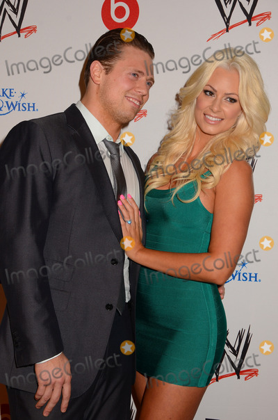 Photos And Pictures 15 August 2013 Beverly Hills Ca Michael Mizanin The Miz Maryse