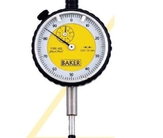 Baker 25 Mm Plunger Type Dial Indicator 56 K08