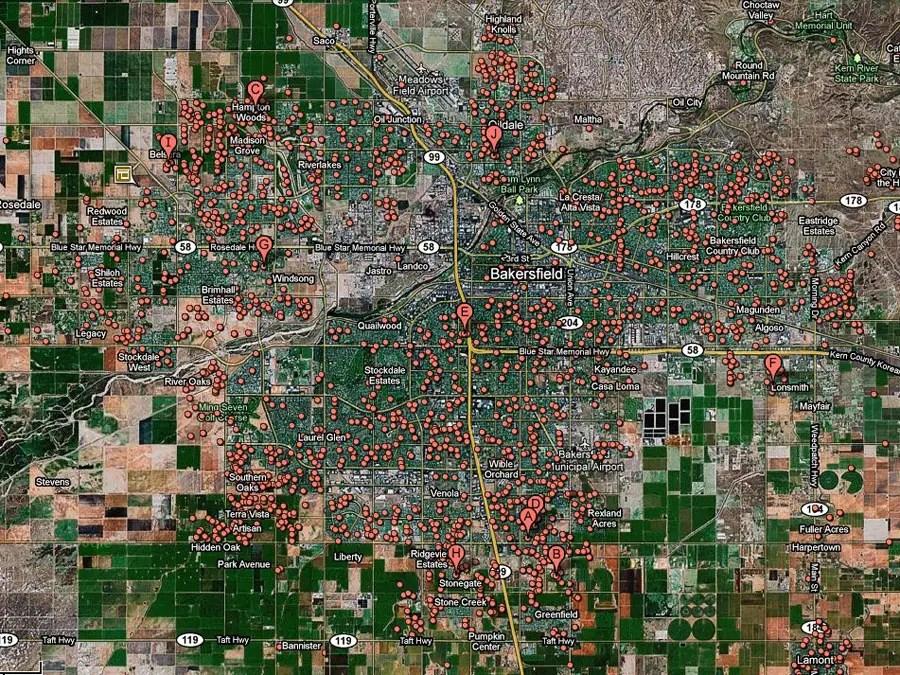 Bakersfield, Calif. -- 1 in 17 homes in foreclosure