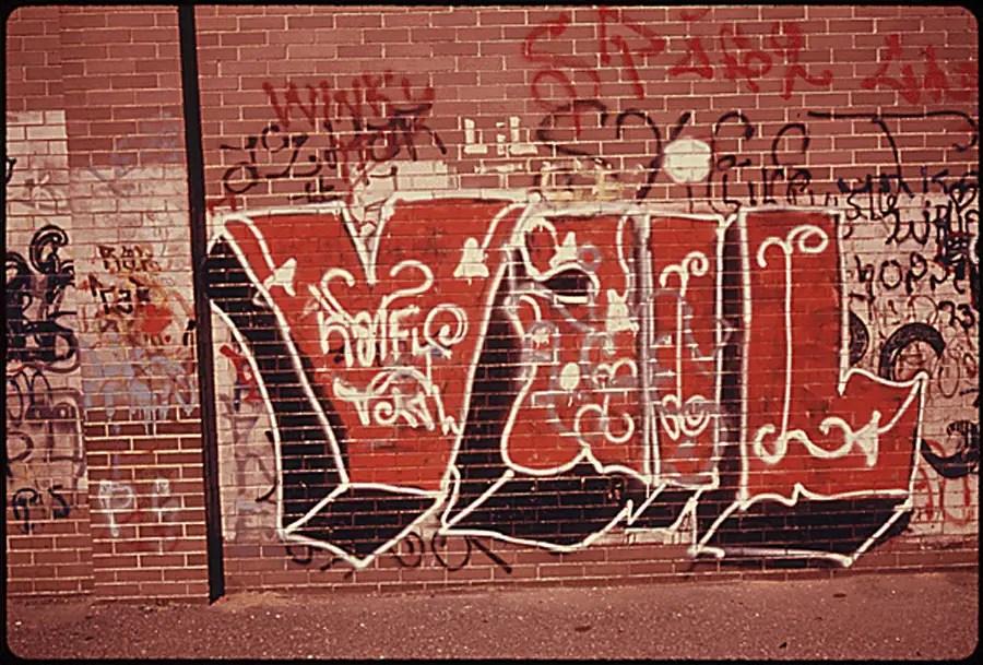 Graffiti in Brooklyn