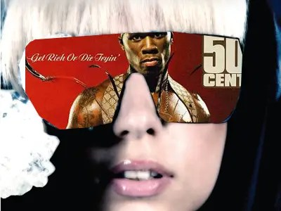 Lady Gaga And 50 Cent Want You To See A 5-Second Ad Every Time You Click A Link