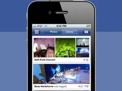 Here Are Amazing Photos Of Facebook's Secret Photo Sharing App For iPhone