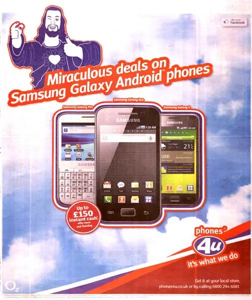 In September 2011, the ASA received 100 complaints that this mobile phone ad