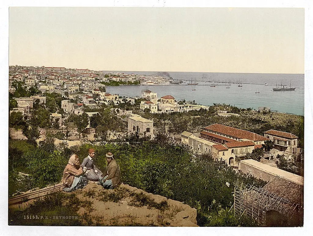 Beirut was a large city even at the turn of the century