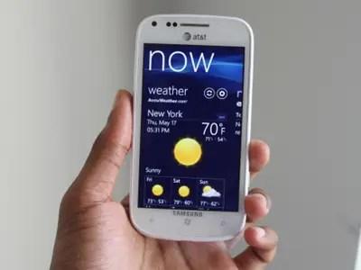 #7 Samsung Focus 2 4G LTE