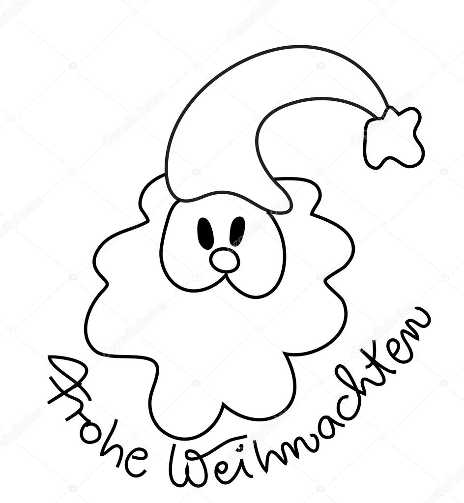German Christmas Coloring Pages Pictures To Pin On Pinterest