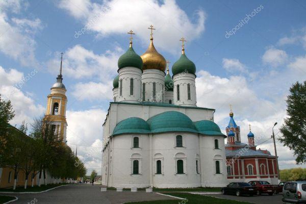 Успенский собор в России Коломна — Стоковое фото ...