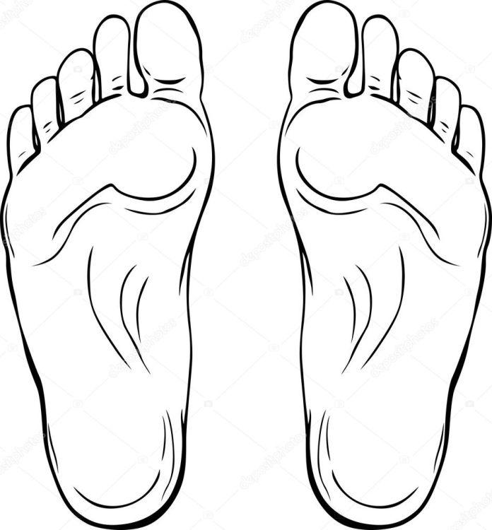 Gan bàn chân, tướng số gan bàn chân