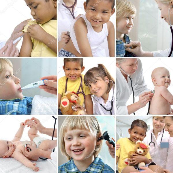 Cuidado de la salud para niños — Foto de stock © alexraths ...