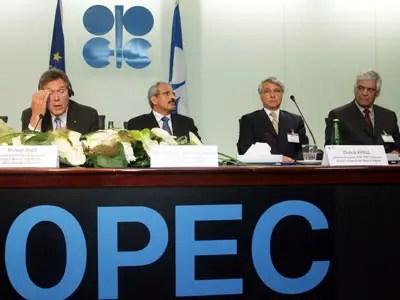 Members of OPEC meet