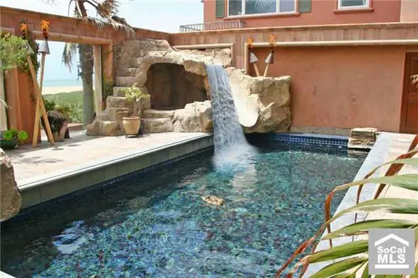 Jesse James' LA beach front Mediterranean villa, with rock slide -- $4.995 million
