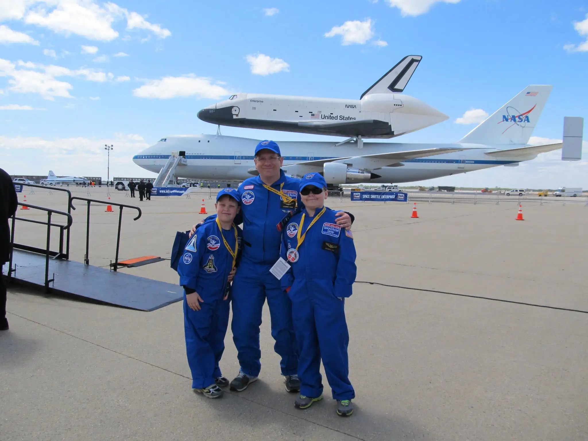 At Space Camp, kids are trained in robotics, space missions, and more.