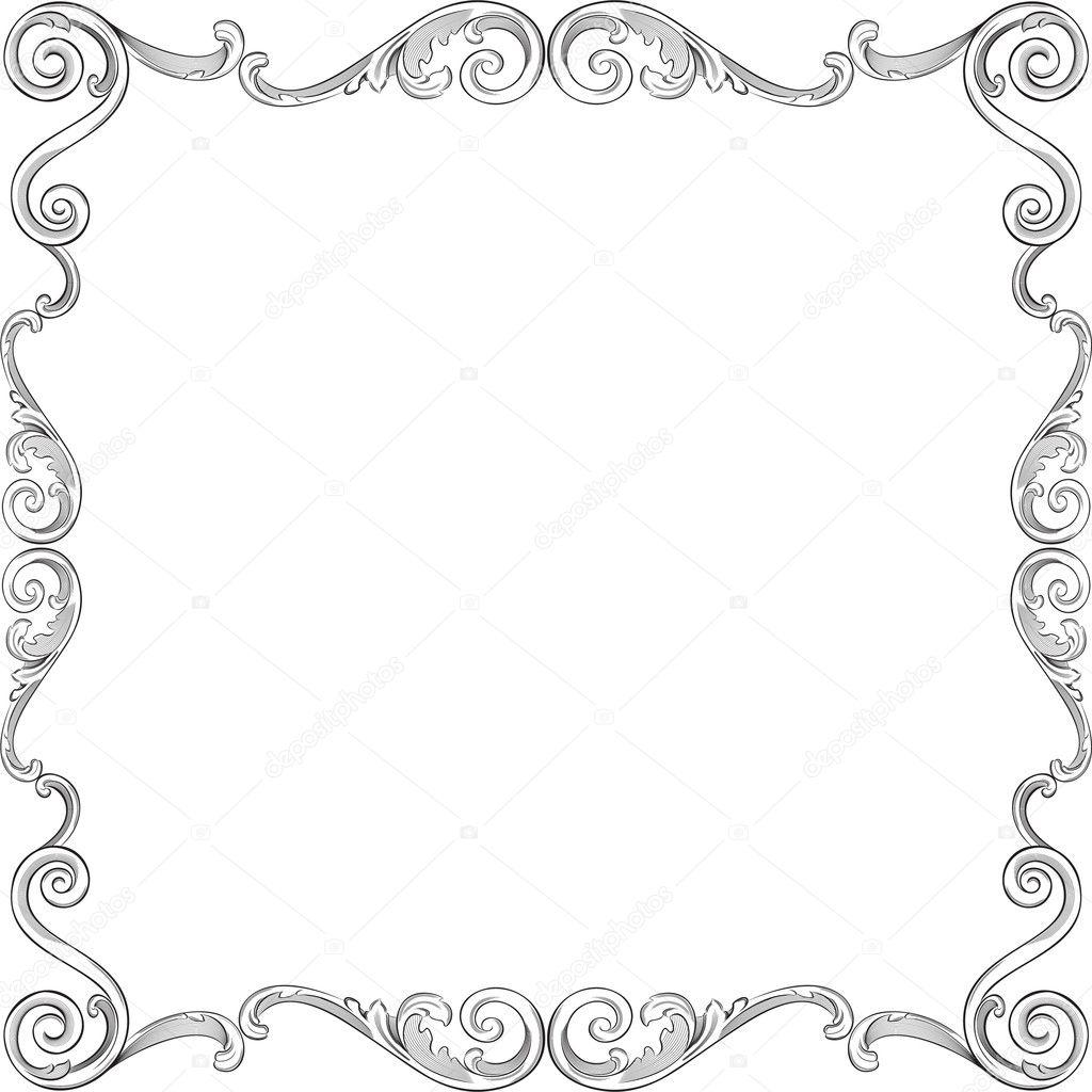 Beautiful Ornate Frame