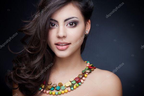 Ihoto: indian beauty girls | Beautiful indian girl — Stock ...