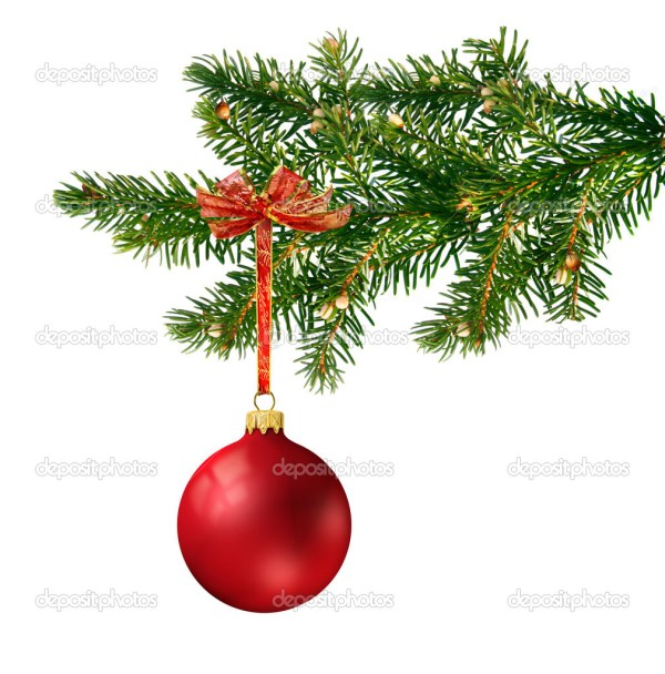 Красный шарик на елку | красный стеклянный шарик на елку ...