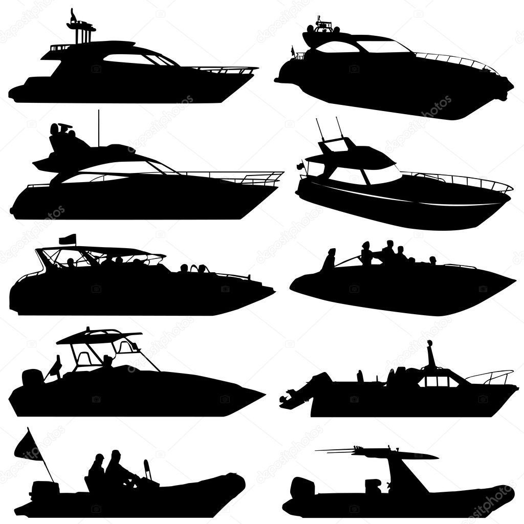 The Gallery For Gt Pontoon Boat Silhouette
