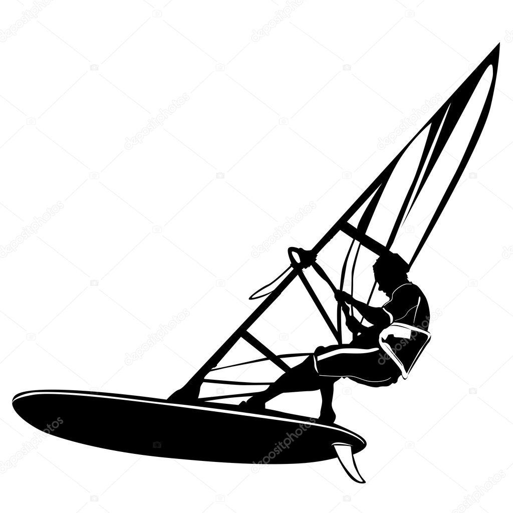 Windsurfing Background